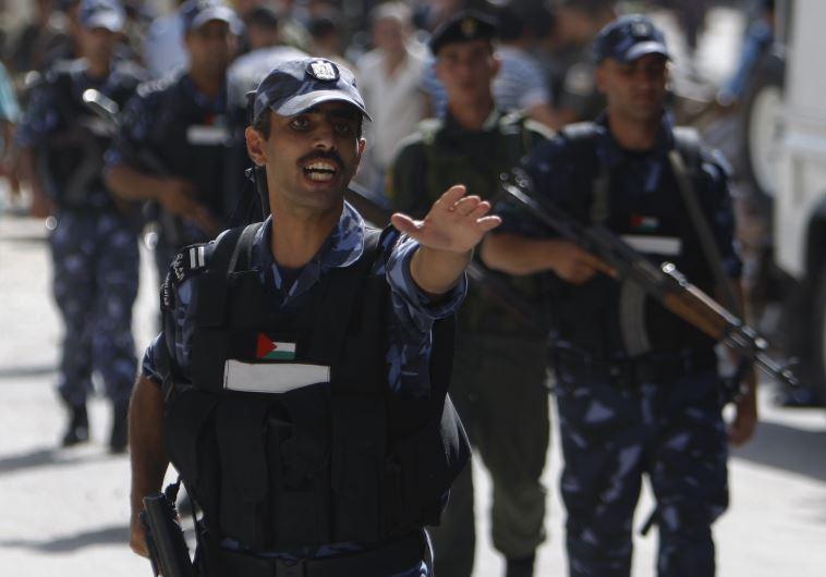 כוחות המשטרה של הרשות הפלסטינית