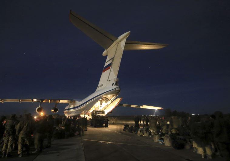 כוחות של צבא רוסיה נוחתים בסוריה. צילום: רויטרס