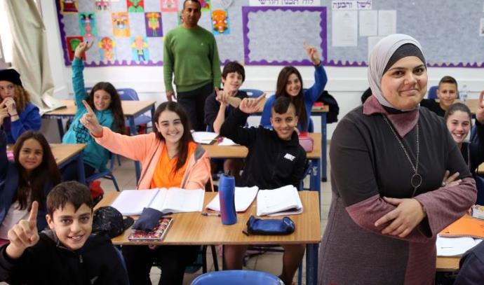 שילוב מורים ערבים בבתי ספר יהודים. ארכיון