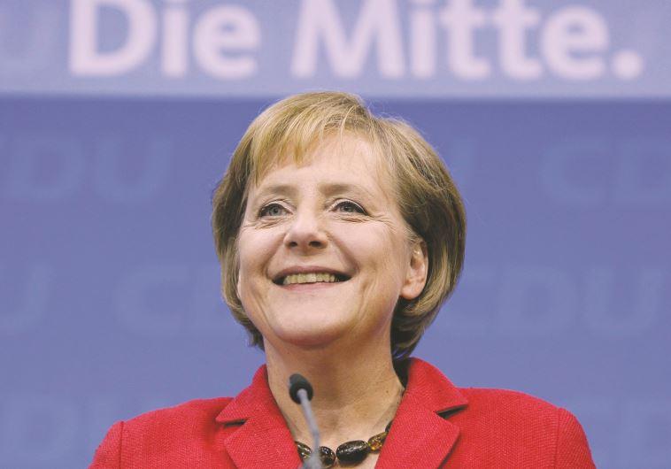 """""""מודל לחיקוי"""", אנגלה מרקל, קנצלרית גרמניה. צילום: רויטרס"""