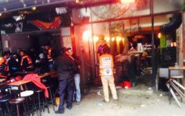 """הפאב בו אירע הירי ברחוב דיזנגוף בת""""א"""