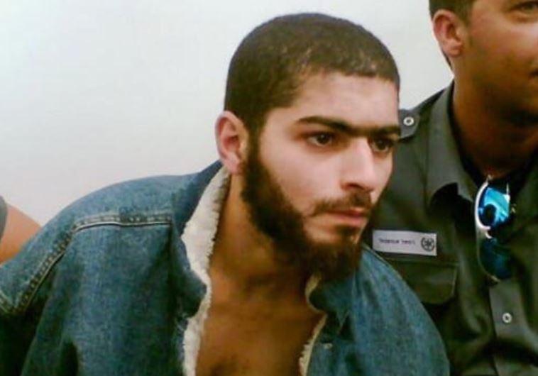 נשאת מוחמד עלי מלחם, החשוד בפיגוע הירי בתל אביב. בתמונה מ-2007