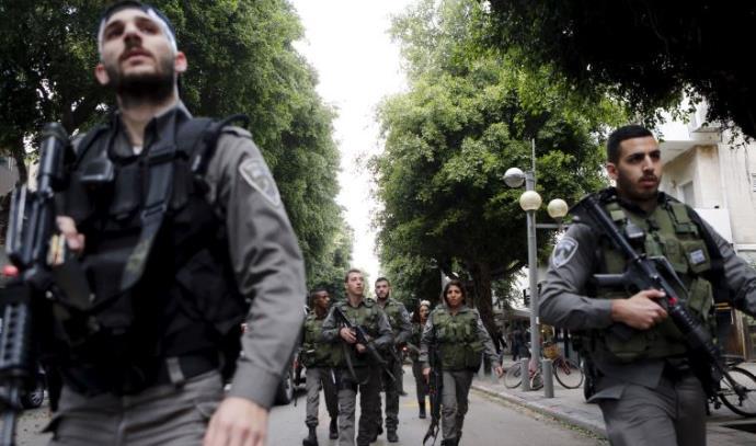 כוחות הביטחון סורקים את תל אביב אחרי פיגוע הירי