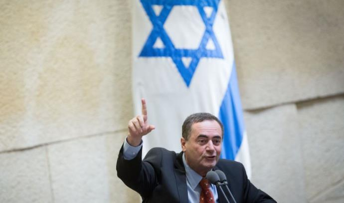 ישראל כץ במליאת הכנסת