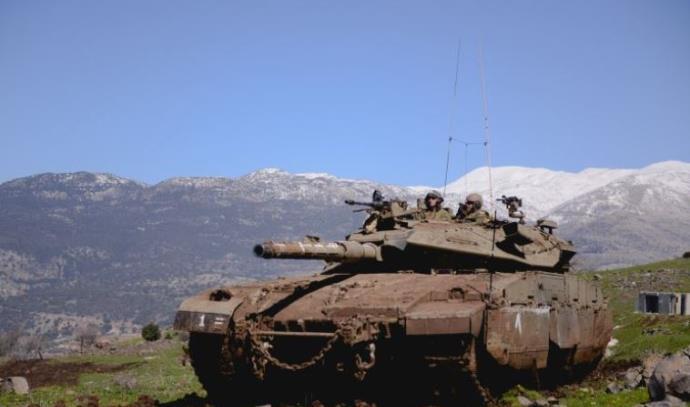אימון חיל השריון ברמת הגולן, ארכיון
