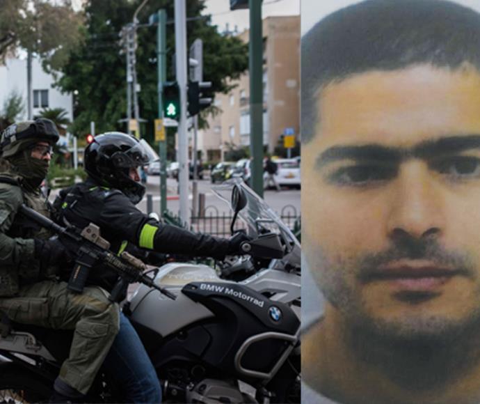 נשאת מוחמד מלחם, המחבל החשוד בפיגוע הירי בתל אביב