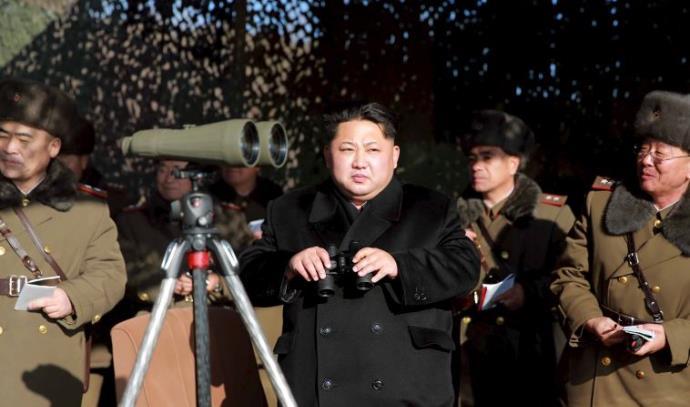 מנהיג צפון קוריאה קים ג'ונג און