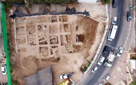 שרידי המצודה הכנענית בנהריה