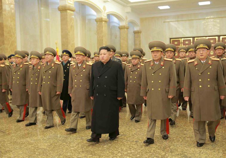 קים ג'ונג-און, מנהיג קוריאה הצפונית. צילום:רויטרס