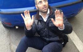 דוד אמסלם, מורה שנדקר באירוע בצרפת