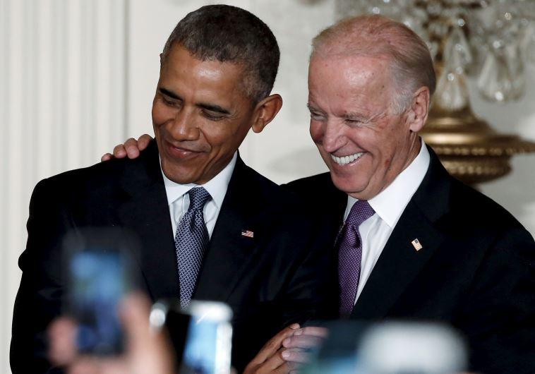 ברק אובמה וג'ו ביידן