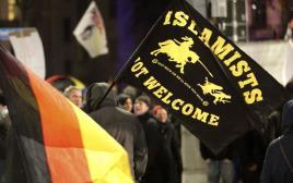 הפגנה של תנועת פגידה בקלן, גרמניה