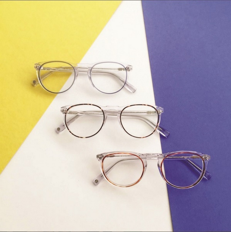 תורמים זוג משקפיים על כל זוג שנרכש. וורבי פארקר. צילום מסך מתוך אינסטגרם