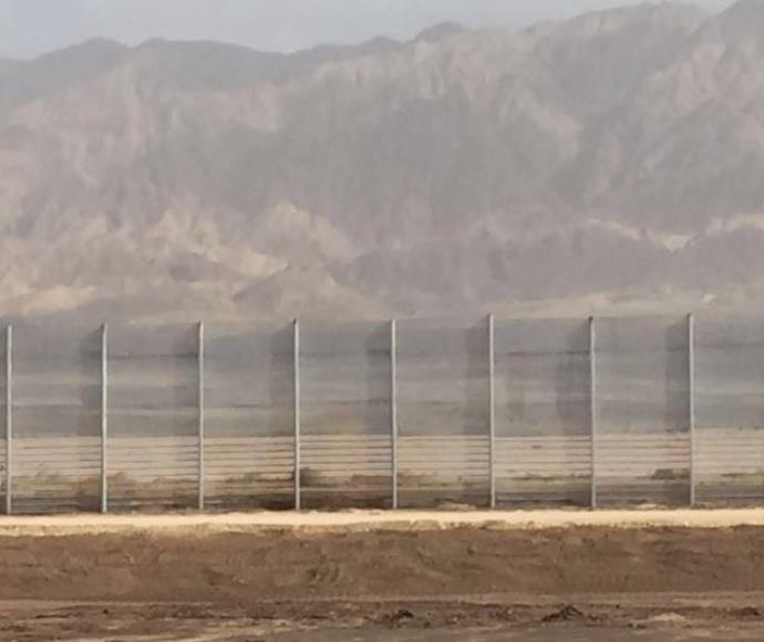 גדר בטחון בגבול ישראל-ירדן