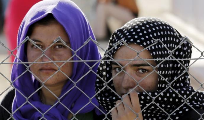 נשים יזידיות שנמלטו מדאעש