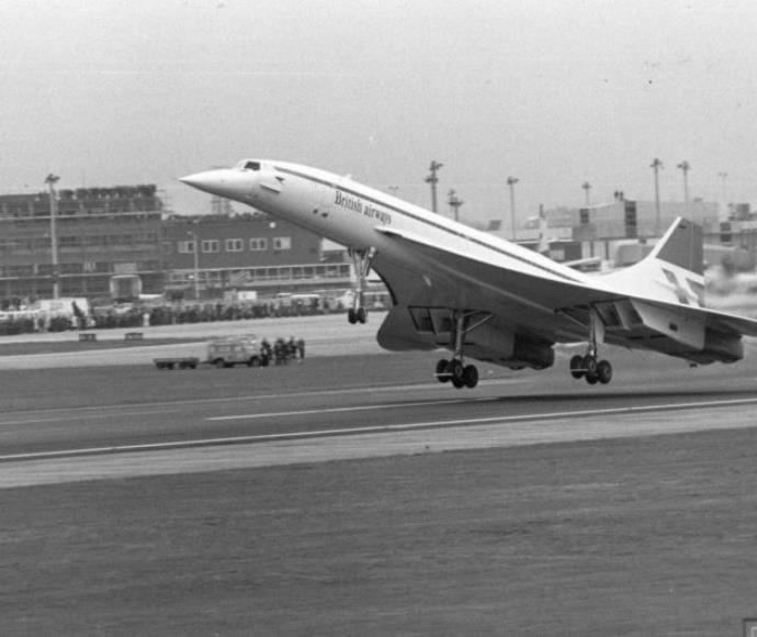 אם מטוסי קרב שברו את מחסום הקול, למה שמטוסים אזרחיים לא יעשו זאת? הקונקורד בטיסה הראשונה ב־76'