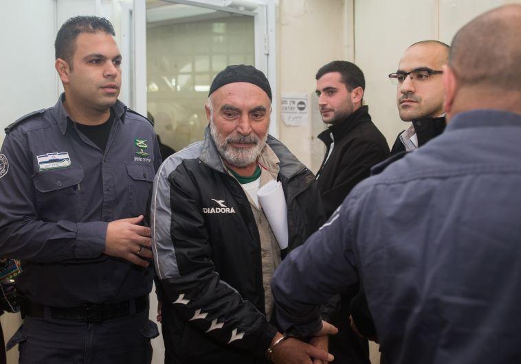עזרא נאווי בבית משפט השלום בירושלים