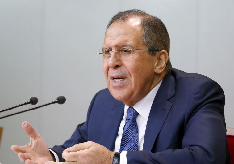 שר החוץ הרוסי לברוב. צילום: רויטרס