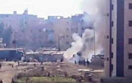 פיגוע של דאעש בדמשק