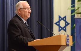 ראובן ריבלין בכנס שגרירי משרד החוץ