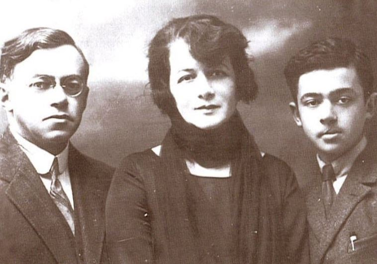 זאב ז'בוטינסקי ומשפחתו. צילום: ארכיון מכון ז'בוטינסקי