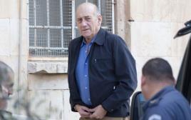 """אהוד אולמרט בפתח ביה""""מ השלום בירושלים"""