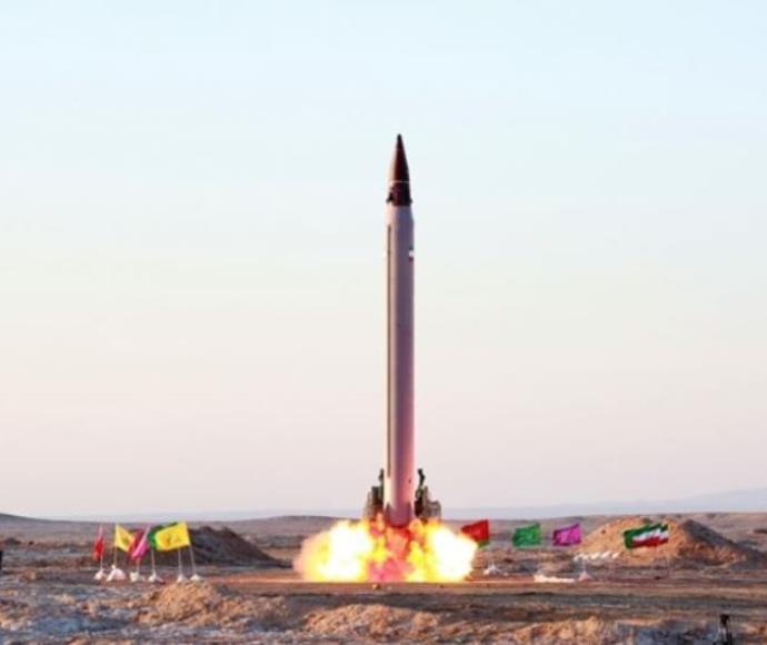 ניסוי איראני בטיל בליסטי
