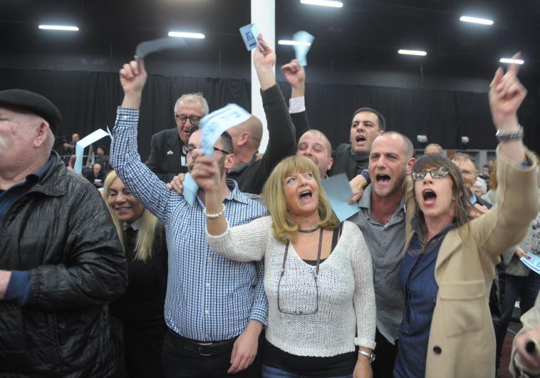 המפלגה אישרה את תוכניתו של הרצוג. צילום: אבשלום ששוני