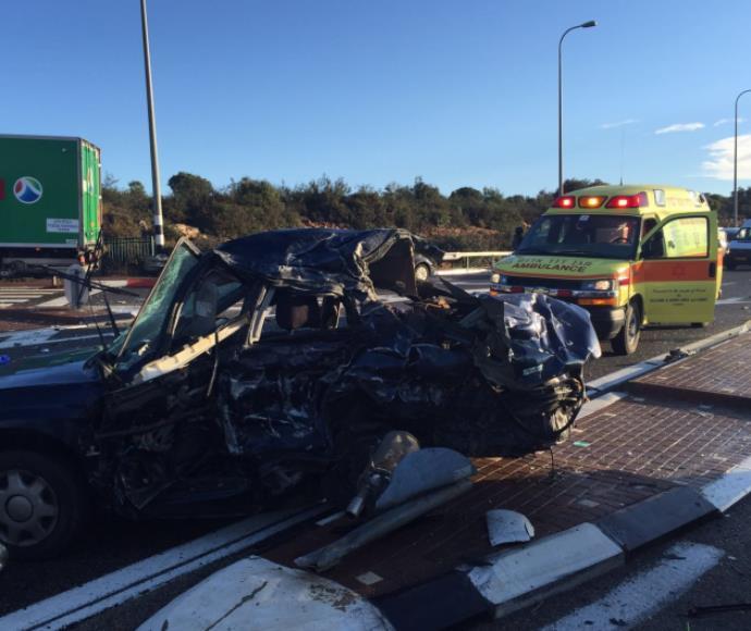 תאונת דרכים סמוך לצומת נווה זיו