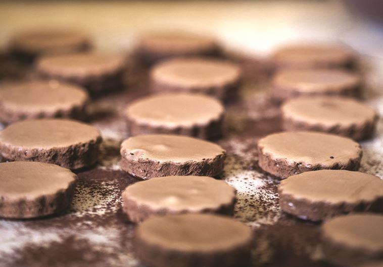 עוגיות שוקולד עם מלח ים
