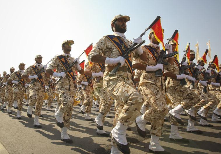 צבא משמרות המהפכה של איראן. צילום: רויטרס