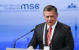 עבדאללה מלך ירדן בכנס הביטחון העולמי במינכן