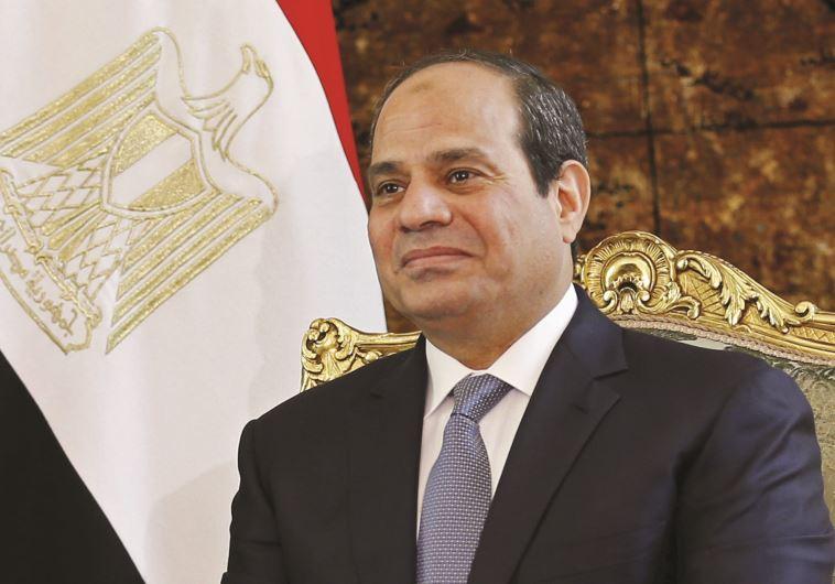 """""""הזדמנות חד פעמית"""", נשיא מצרים א-סיסי. צילום: רויטרס"""