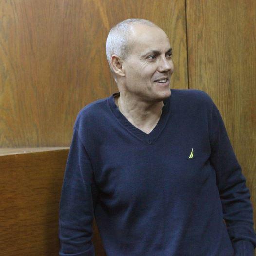 אבנר הררי בבית המשפט (צילום: חן גלילי)
