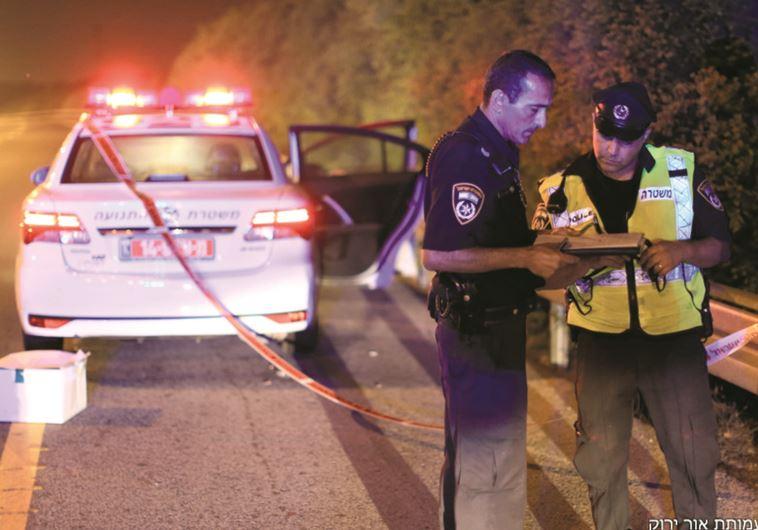 ניידת של משטרת התנועה בפעילות, ארכיון. באדיבות אור ירוק