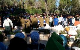 """הלווייתו של טוביה ינאי ויסמן ז""""ל"""