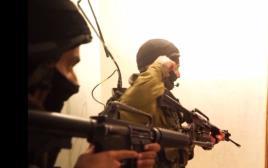 מיפוי בתי המחבלים שביצעו את הפיגוע בשער בנימין
