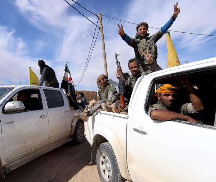 גורמי אופוזיציה סורים כבשו את העיירה אל שדאדי, 19.2.16