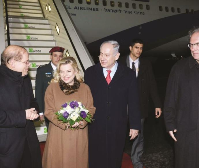 ראש הממשלה ורעייתו נוחתים בברלין