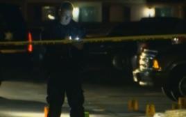 זירת אחד ממקרי הירי במישיגן
