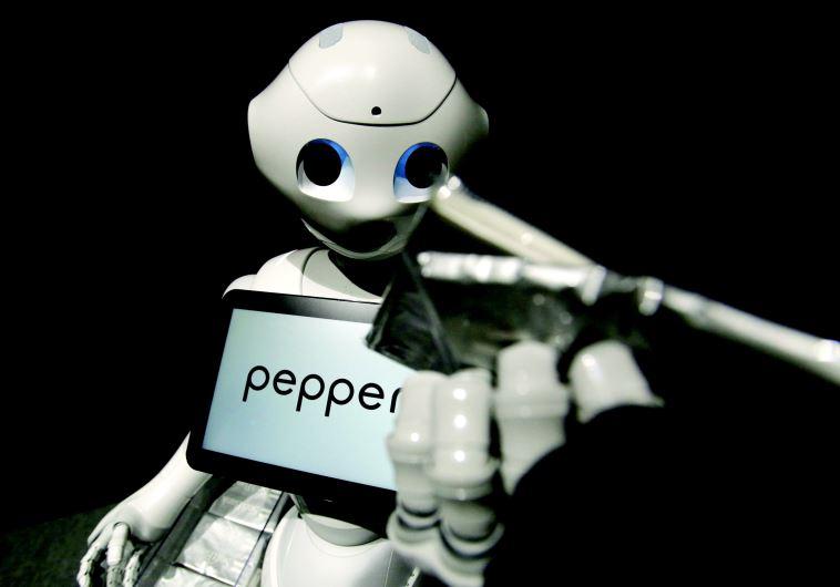 הרובוט פפר. הראשון שמסוגל לקרוא הבעות