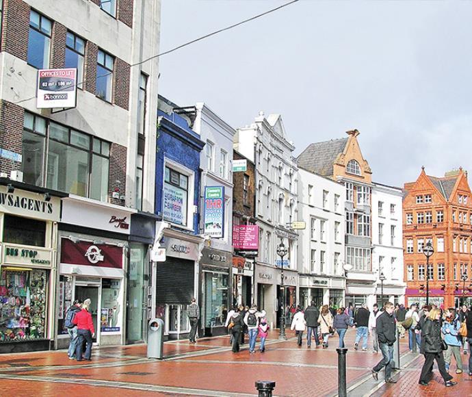 רחוב גרפטון, דבלין, אירלנד, תיירות