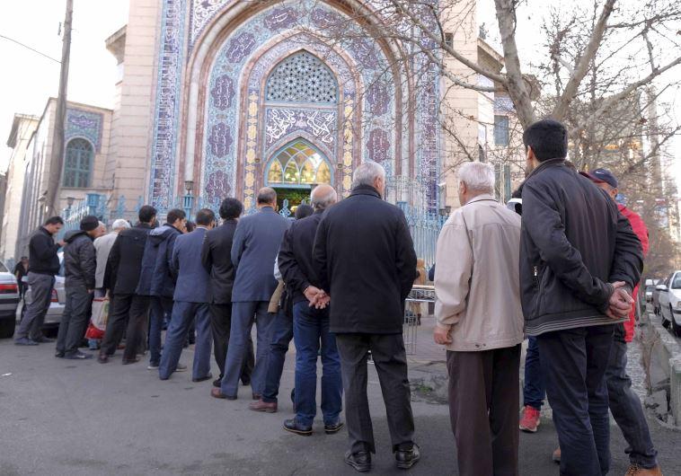 תור לקלפי בבחירות באיראן. צילום: רויטרס