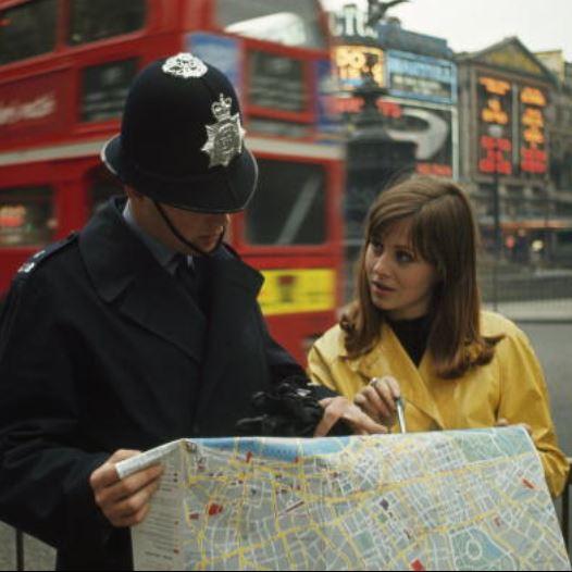 לונדון ב-1966 (צילום: James P. Blair)