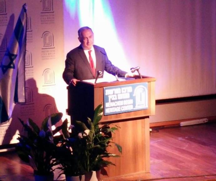 """נתניהו באירוע לציון 100 להולדת יצחק שמיר ז""""ל"""