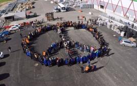 הבעת סולידריות של עובדי סודה סטרים עם העובדים הפלסטינים שפוטרו