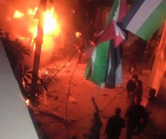 חילופי אש במחסום קלנדיה