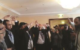רבנים לומדים הגנה עצמית בברלין