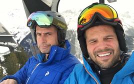 איל קיציס בחופשת סקי