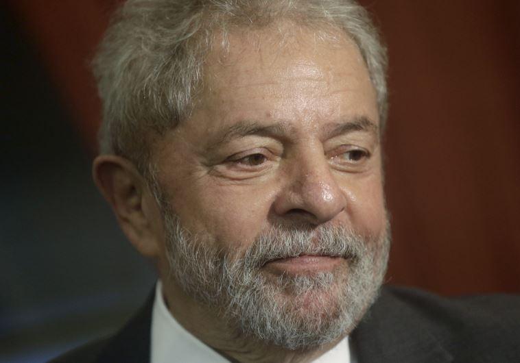 נשיא ברזיל לשעבר לואיס אינסיו לולה דה סילבה